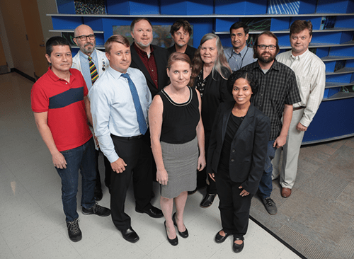 A photo of faculty members from Center for Autoimmune Genomics and Etiology.