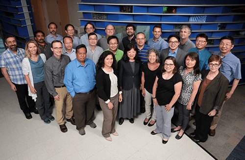 A photo of faculty members from Experimental Hematology and Cancer Biology.