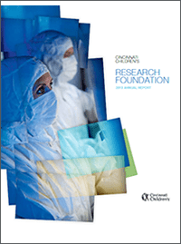 An image of the 2010 Research Annual Report cover.