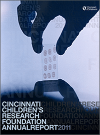 An image of the 2011 Research Annual Report cover.