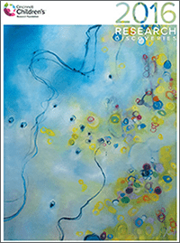 An image of the 2016 Research Annual Report cover.