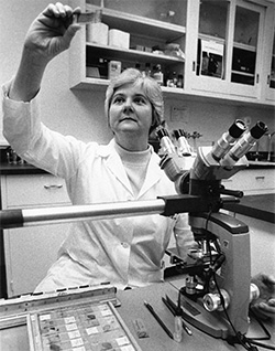 Dr. Beatrice Lampkin directed the Division of Hematology / Oncology for 18 years. She was the first female director of this division in the United States.