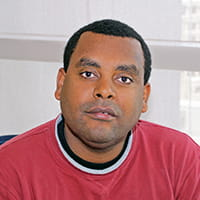 Dave (Dawit) Tadesse, PhD's headshot photo.