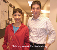 Zhihong Wen and Dr. Rothenberg.