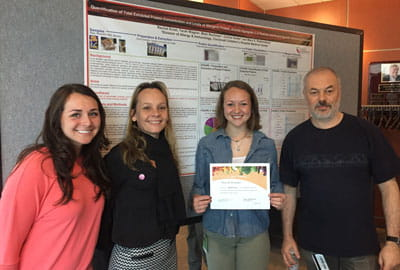 Poster of Distinction at Nutrition Research Day 2017.