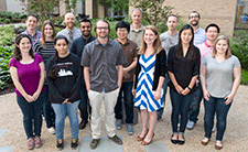 A group photo of the Kottyan Lab.