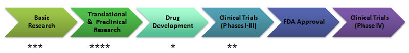 Stages of Therapeutic Development