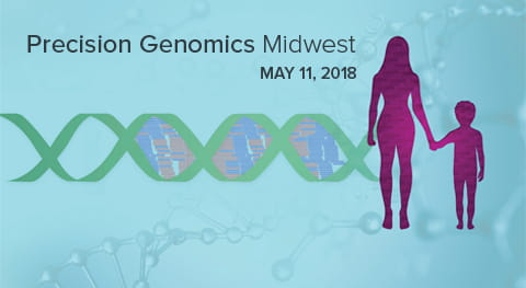 Precision Genomics Midwest is set for May 11, 2018, at Cincinnati Children's.