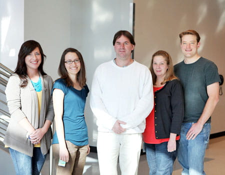 Gebelein Lab group shot.