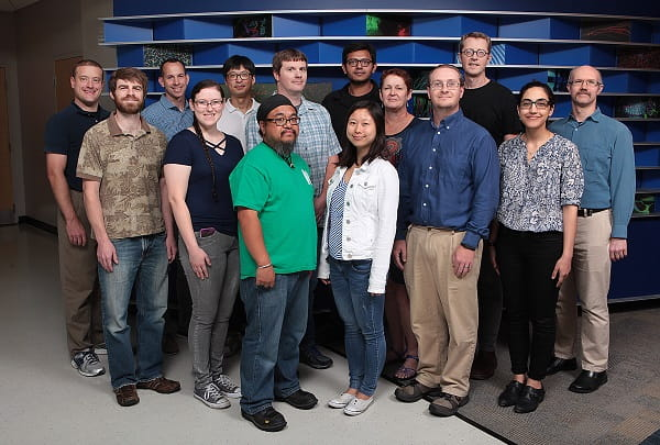 Zorn Lab group photo.