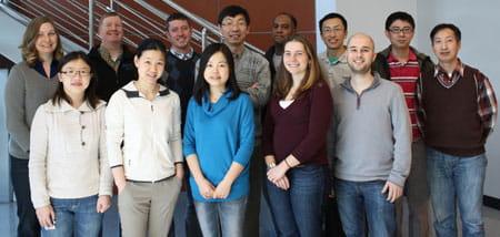 Zheng Lab group photo.