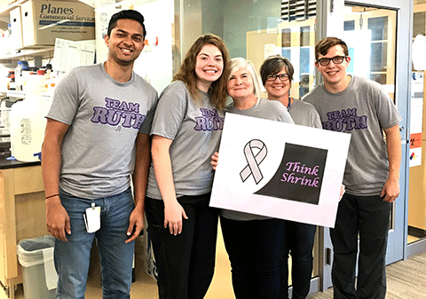 Huppert Lab Supports Brain Cancer Awareness 2019.