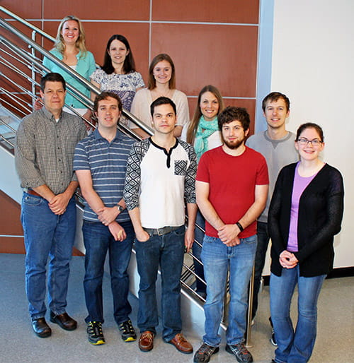 A group photo of the Stottmann Lab.