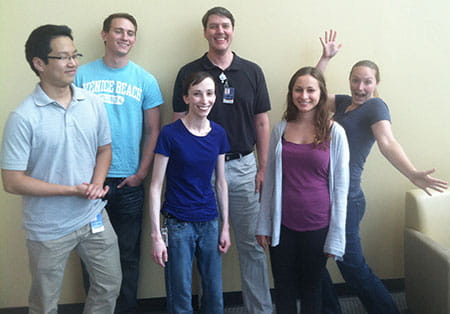Crone Lab group picture