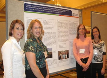 research nurses at Cincinnati Children's-visual1-350-nurses presenting at IACRN
