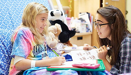 The Hospital School Program at Cincinnati Children's helps your child keep up with schoolwork.