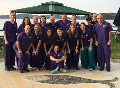 Colorectal Center team photo from the Tanzania mission trip.
