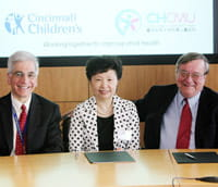 Cincinnati Children's has established a formal collaboration with the Children's Hospital of Chongqing Medical University, one of the largest pediatric hospitals and research centers in China.