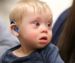 The Center for Telehealth at Cincinnati Children's was able to help connect Axl and his family with an audiology specialist.