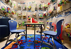 The Jack Rubinstein Library offers a range of resources for children and families of children with special needs.