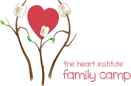The Heart Institute Family Camp graphic.