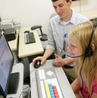 Assistive technology can help children who struggle with written expression and computer access.