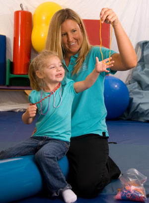 Our occupational and physical therapists are respected, integral members of a team that delivers exceptional therapy services to children from infancy through early adulthood.