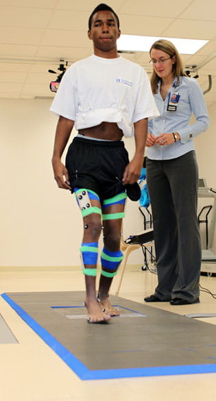 Young man in Physical Therapy