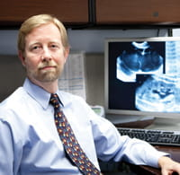 Radiologist-in-chief Brian Coley.